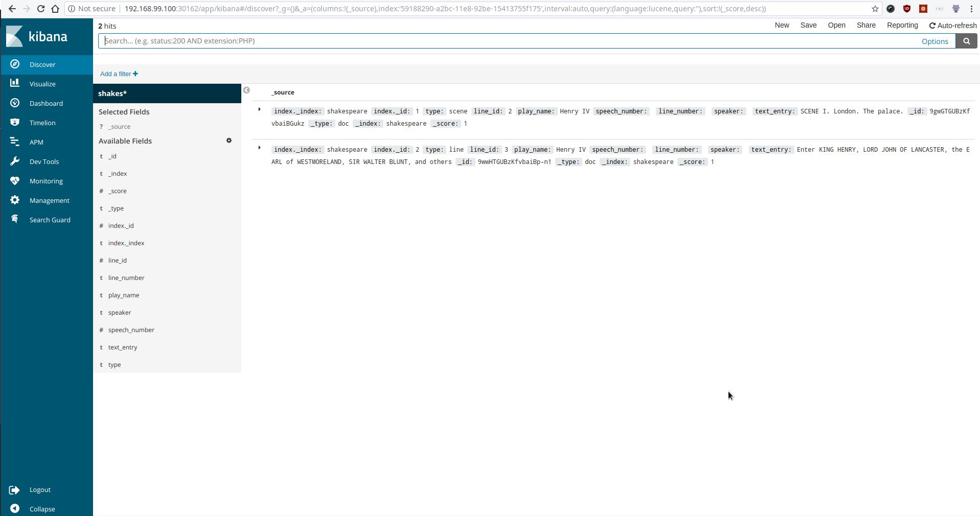 Using Kibana with KubeDB Elasticsearch